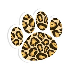MAGNETIC WHITEBOARD ERASER LEOPARD