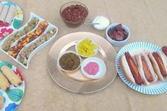 Prepare a Hot Dog Toppings Bar for your next BBQ