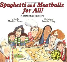 Spaghetti And Meatballs For All! This book is for teaching area and perimeter.
