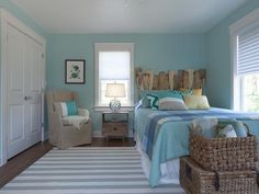 How to Choose Paint Colors: Find one to three strips in the paint deck, each of those colors with similar hues. From DIYnetwork.com