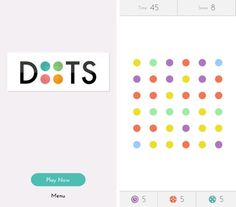 Four of our favorite new apps for kids. Doesn't DOTS look like a Damien Hirst?