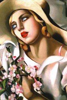 Tamara de Lempicka, Ritratto di giovane ragazza (1933)