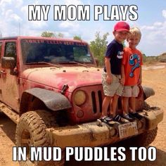 My kids will be like...