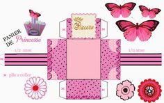 Princesa: Cajas para Imprimir Gratis.