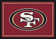 San Francisco 49ers Team Spirit Rug in San Francisco 49ers from ACWG
