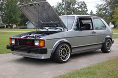 I've daily driven VWs for 15 years.this week.that will change. Vw Mk1 Rabbit, Vw Classic, Mk 1, Golf 1, Karting, Car Audio, 15 Years, Volkswagen Golf, Man Cave
