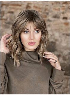 Haircuts For Medium Hair, Hairstyles Haircuts, Medium Hair Styles, Curly Hair Styles, Hair Color And Cut, Hair Affair, Shoulder Length Hair, Layered Hair, Brunette Hair