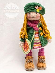 Crochet pattern for doll ELLIE |