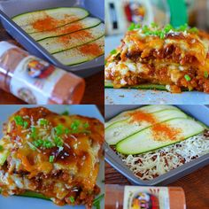 Here's my ZUCCHINI LASAGNA With the addition of zucchini you won't miss the noodles! Gluten free
