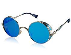 Stijlvolle zonnebril ronde glazen
