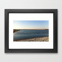 Lake 3 Framed Art Print by Rachel Winkelman - $32.00