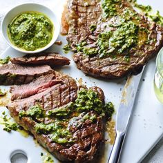 STEAK+WITH+SALSA+VERDE,+a+delicious+recipe+from+the+new+M