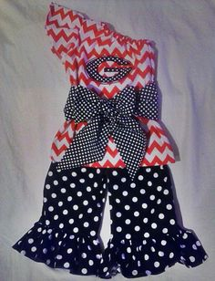 Tristan would look adorable in this :) Girls Georgia Bulldogs one shoulder chevron by Monogrambymelissa, $35.00