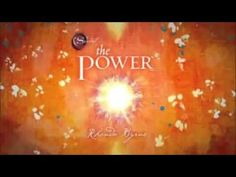 The Power by Rhonda Byrne - YouTube