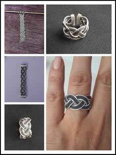 Yeni yüzüğüm - gumus - telkari - goznuru - keyif - silver - filigre - elemegi - ring #handmade #oyaca #oyalanmaca