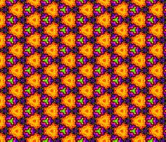 flower_power_surprise_4 fabric by southernfabricdiva on Spoonflower - custom fabric