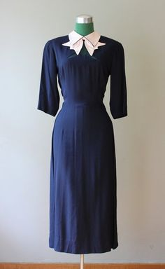 "Howard Greer 1940s dress. Reminds me of Judy Garland's dress in ""A Star is Born"", while she sings ""The Man That Got Away""."