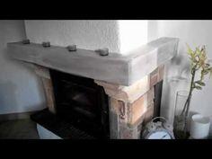 Comment peindre la poutre de votre cheminée – Forumbrico Home Staging, Habitats, Sweet Home, House, Design, Home Decor, Search, Google, Table