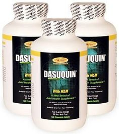 3PACK Dasuquin for Large Dogs 60 lbs over with MSM 450 Chewable Tabs >>> You can find out more details at the link of the image.