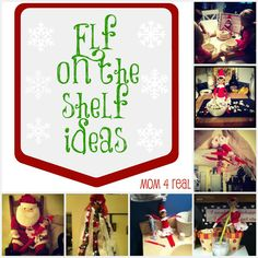 Elf on the Shelf Ideas #easy #elfontheshelf #elf #Christmas