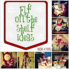 Elf on the Shelf Ideas #easy #elfontheshelf #elf #Christmas