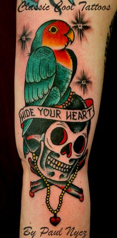 """I'm a tattooer out of Des moines IA. I work at """"Iron Heart"""" If you like my work and are interested. Paul Design, Cool Tattoos, Eye Candy, Skull, Ink, Tattoo Flash, Artist, Addiction, Classic"""