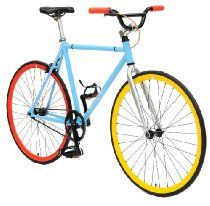 Critical Cycles Fixed Gear Single Speed Fixie Urban Road Bike - Like the tri color combination - 10 other color combinations to choose from Bmx Handlebars, Urban Road, Fixed Gear Bicycle, Bicycle Lights, Bike Light, Mountain Bike Shoes, Road Bike Women, Bicycle Maintenance, Cool Bike Accessories