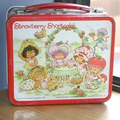 My first lunch box; it was metal and had a plastic thermos that ALWAYS leaked. But, I loved it!
