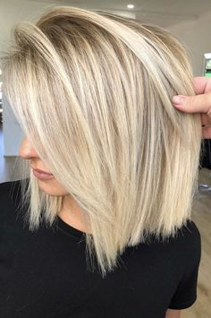 Cute-Blonde-Hairstyle Best Pics of Short Straight Blonde Hair Hair inspiration – Hair Models-Hair Styles Short Straight Hair, Straight Hairstyles, Blonde Bob Hairstyles, Summer Hairstyles, Womens Bob Hairstyles, Modern Bob Hairstyles, Summer Haircuts, School Hairstyles, Fancy Hairstyles