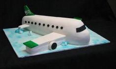 airplane cake birthday
