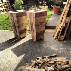 jardiniere/pot palettes