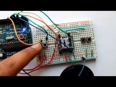 Example 2- Using WTV020SD-16P music module with Arduino – Build Circuit