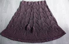 Casa da Salete: Saias de croche - Skirts!