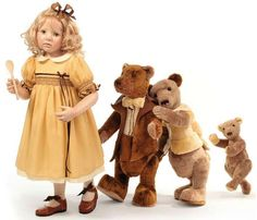 "Hildegard Gunzel's ""Goldilocks & the 3 Bears"""