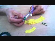 this is tutorial for making dandelion with crepe paper  it is easy to make it give it a try~  Check this link for more crepe flowers!: http://www.youtube.com/playlist?list=PLARynHUwBChmITvwj5B-8M8ODRBQr0XUj=view_all