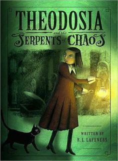 Theodosia and the Serpents of Chaos. A little creepy in places, FYI. Apparently she slept in a sarcophagus. Eew.