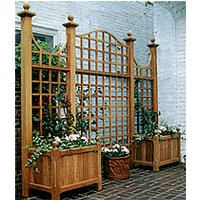 84 Best Planter W Trellis Images Balcony Deck Garden Gates