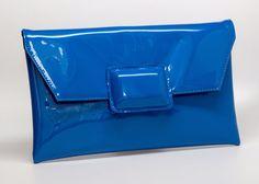 Blue Haze Envelop clutch  by Preppytrendy on Etsy