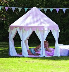 another idea for a pvc pipe house, fairy like