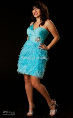 fashion-plus-size-turquoise-sheath-ostrich.jpg (650×1043)