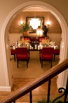 I love the magical dining room - from our project in the Marina District, in San Francisco