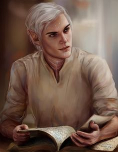 Reminds me of a young Rowan.. [Reading by http://annahelme.deviantart.com ]