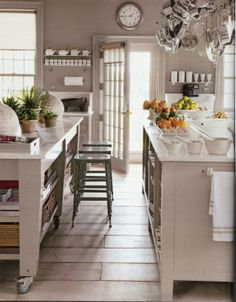 Martha Stewart Kitchen Design | oh how i love this kitchen being in the kitchen is one of my favourite ...