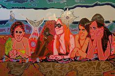 """""""Mermaids"""" de Andrea Valencia @ VirtualGallery.com"""