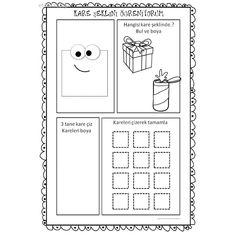 Preschool Math, Preschool Worksheets, Pre School, Mini, Diagram, Shapes, Geometric Fashion, Early Education, Activities