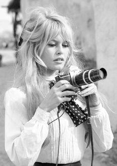 Available now at: www.etsy.com/shop/vintageimagerystore Brigitte Bardot, Bridget Bardot, Celebrity Hairstyles, Bride Hairstyles, Cool Hairstyles, Wavy Hair, Her Hair, Cara Delevigne, Instagram Feed