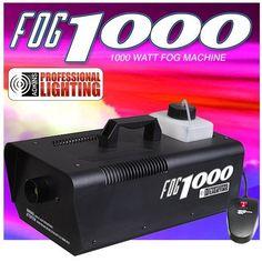 Heavy Duty 1000 Watt Fog Machine W/Remote - Impressive 8,000 Cubic ft. per minute by Adkins Professional... via https://www.bittopper.com/item/heavy-duty-1000-watt-fog-machine-w-remote-impressive/ebitshopa7e5/
