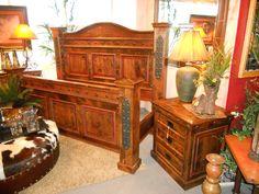 Durango Western Bedroom Set | Western Furniture | Mountain Style Furniture  | Rustic Furniture | Custom