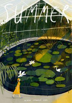 Children book illustration on Behance Comics Illustration, Illustrations And Posters, Tumblr Art, Arte Popular, Adobe Photoshop, Creative Art, Art Inspo, Art Paintings, Graphic Art
