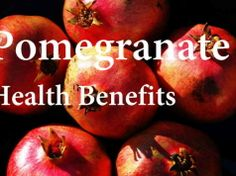 Pomegranate: Not Just Another Antioxidant